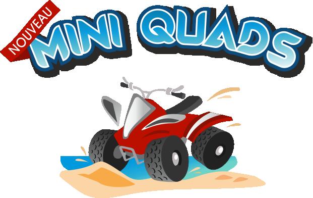 Mini Quads Enfants Plage de Bénerville Calvados Normandie