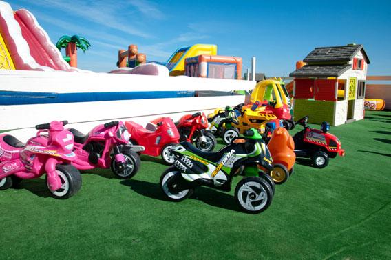 parc attractions gonflables enfants normandie