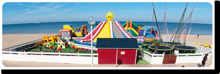 parc lilo zenfants jeux plage normandie