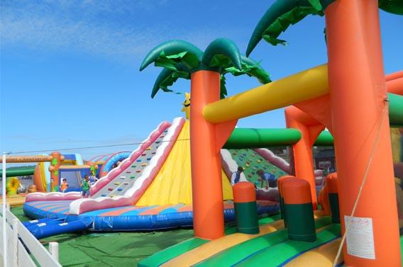 parc gonflables enfants loisirs normandie calvados deauville