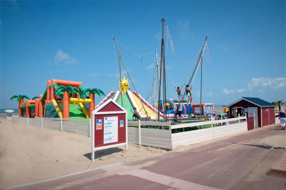 trampolines salto enfants famille deauville normandie