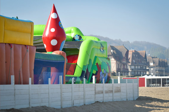 parc attractions deauville normandie