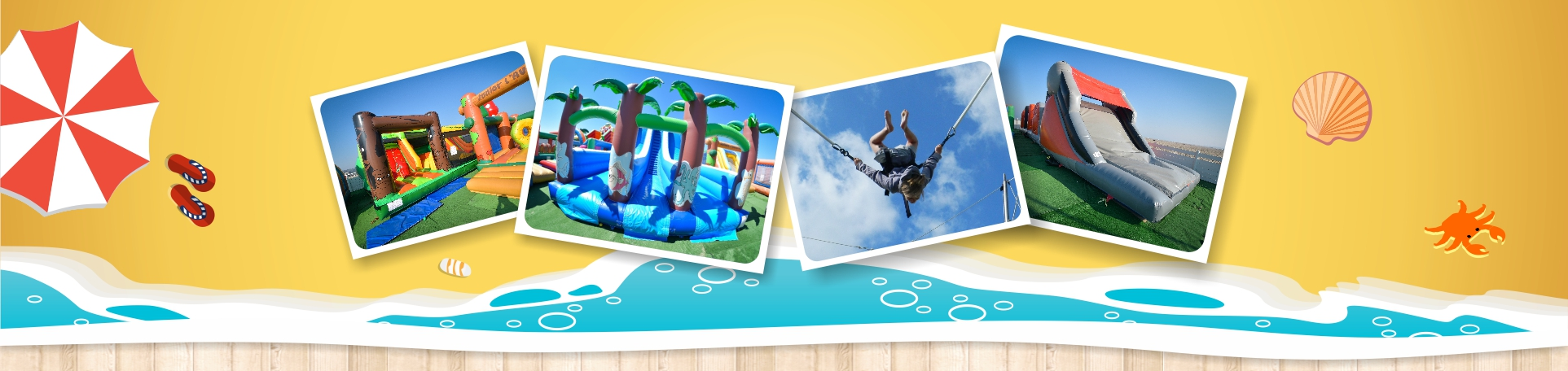 parc attractions enfants loisirs famille trampolines gonflables normandie