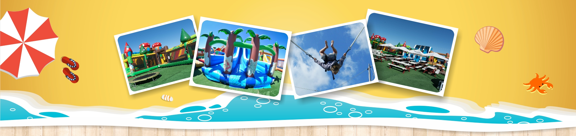 parc attractions loisirs enfants famille trampolines gonflables normandie