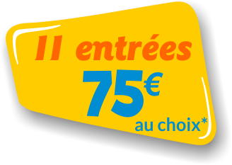 attractions groupe enfants